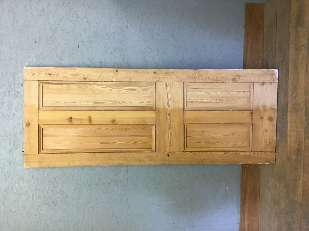 Stripped Semi Varnished 4 Panel