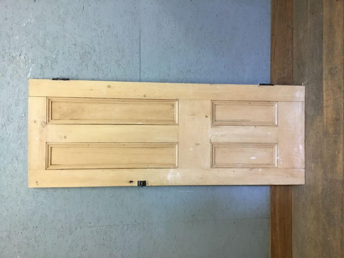 Reclaimed 4 Panel Pine