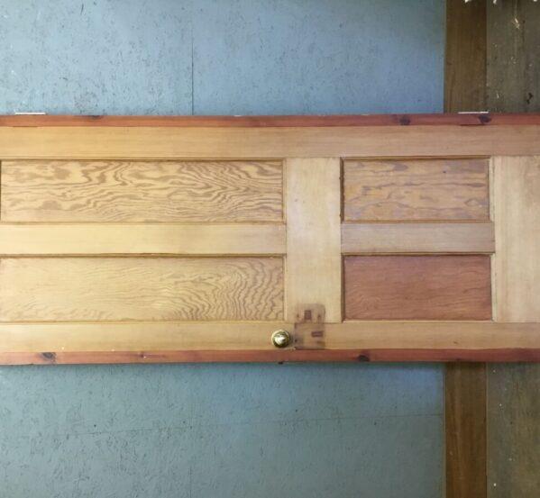 Red Trim Pine 4 Panel