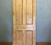 Stripped 4 Panel Pine