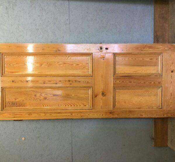 Varnished Half Painted 4 Panel