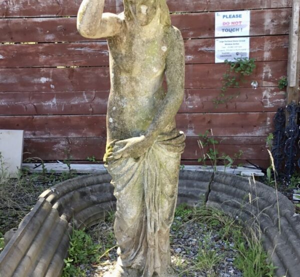 Lovely Reclaimed Lady Statue