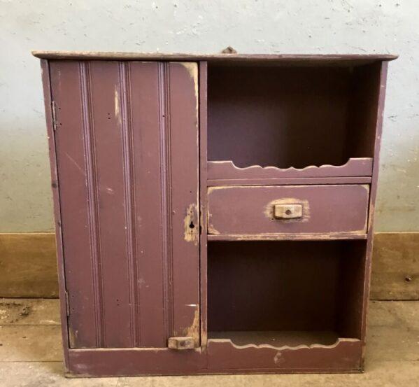 Reclaimed Purple Dresser