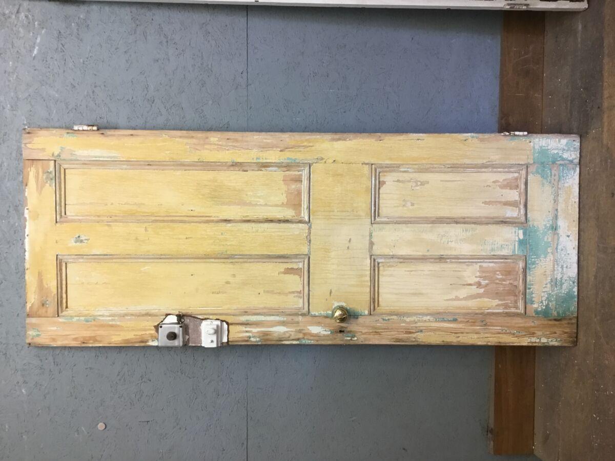 Painted Pine Front Door