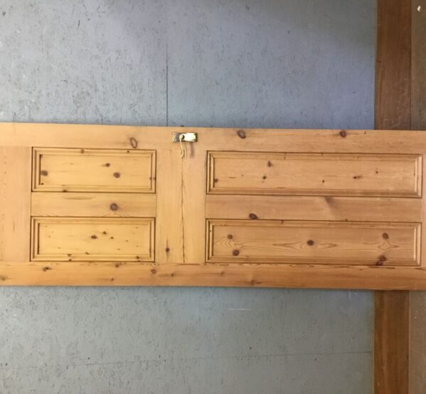 Lovely Stripped 4 Panel Pine