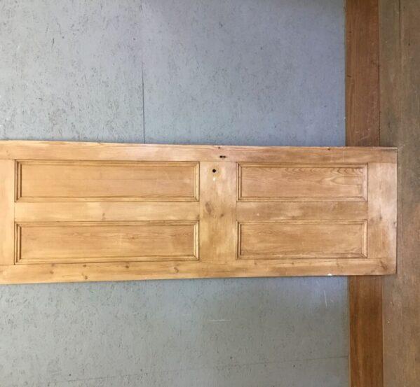 Small Pine Stripped Cupboard Door