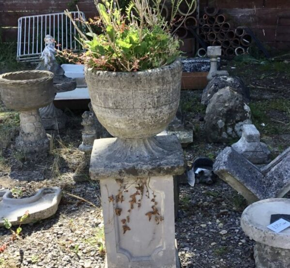 Reclaimed Planter With Stand