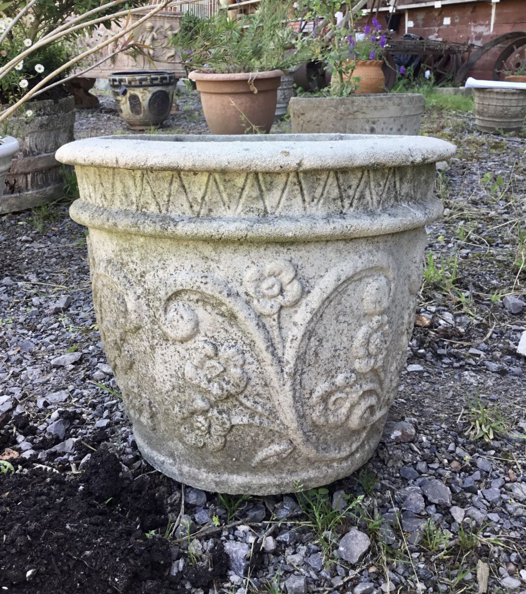 Reclaimed Planter Pot