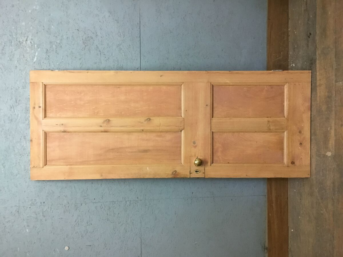 Stripped Pine Four Panel 2