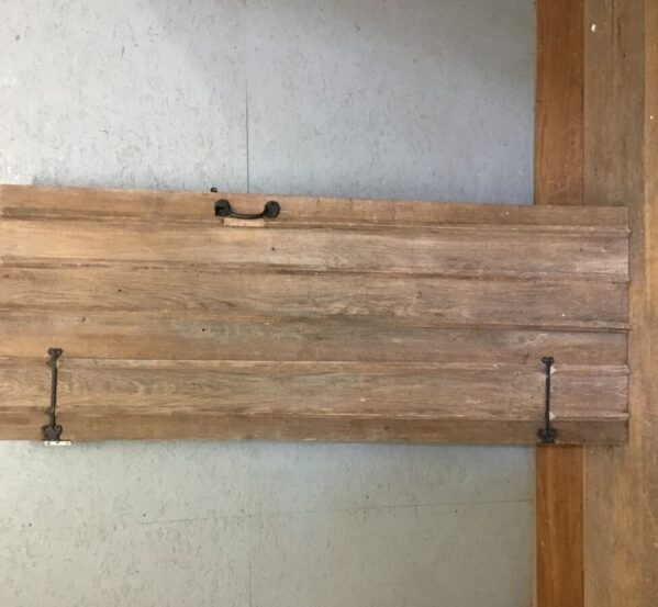 Stripped Oak Ledge & Brace 1
