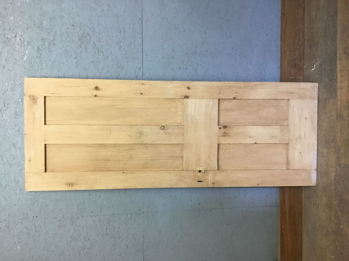 Reclaimed 4 Panel Stripped Pine