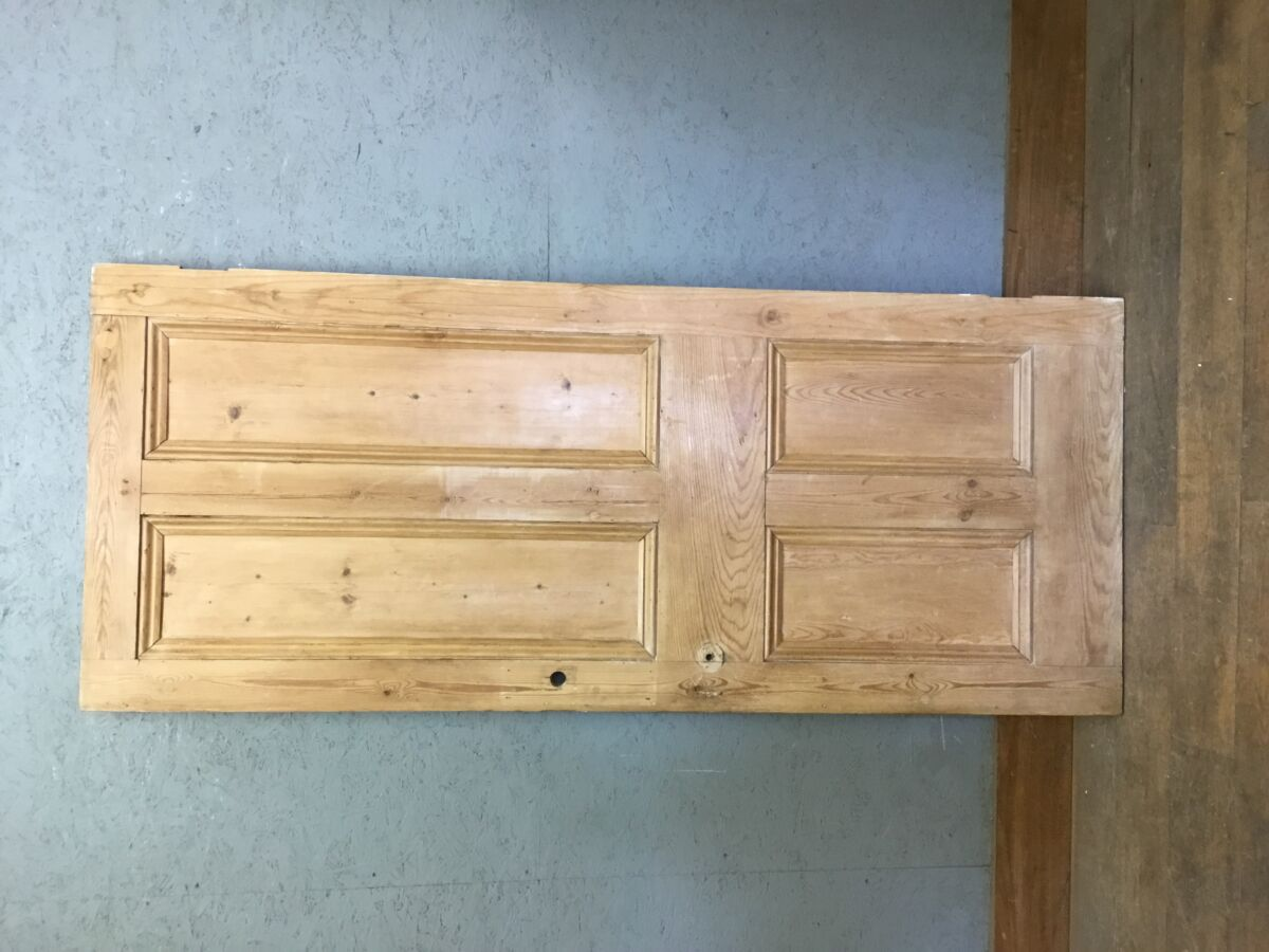 Reclaimed Stripped 4 Panel Pine