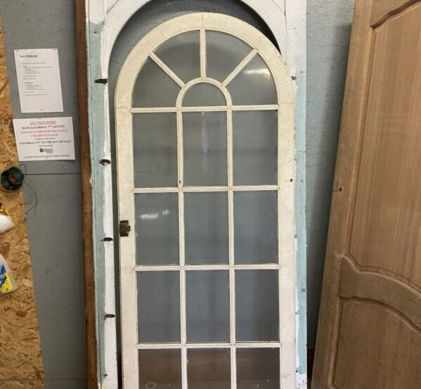 Glazed Arch Doorway With Frame