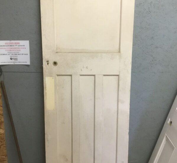 Reclaimed One Over Three Door