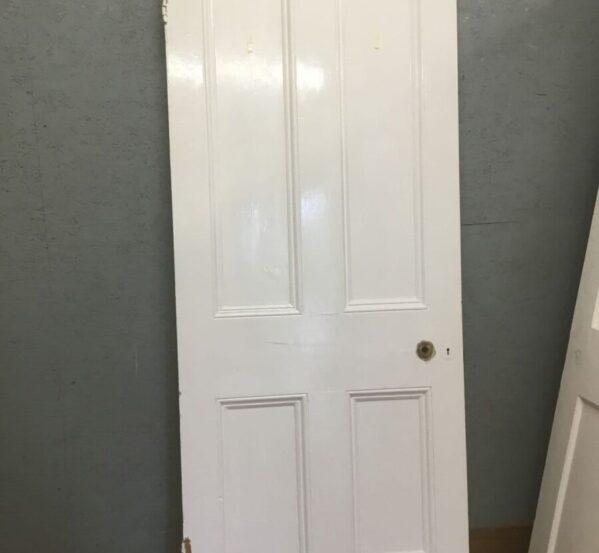 Painted & Beaded Reclaimed Door