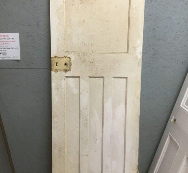 Painted 1/3 Reclaimed Door