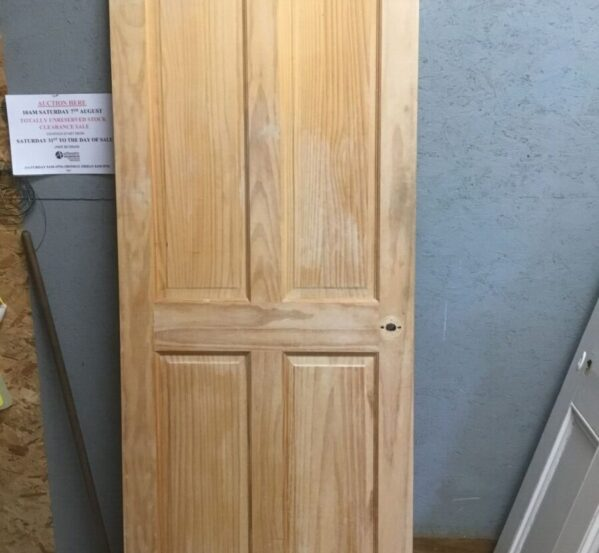 Reclaimed 4 Panel Stripped Door