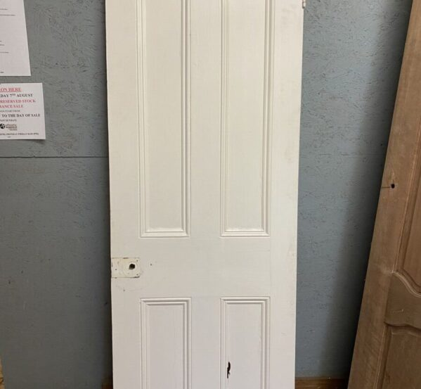 Reclaimed Painted Four Panel