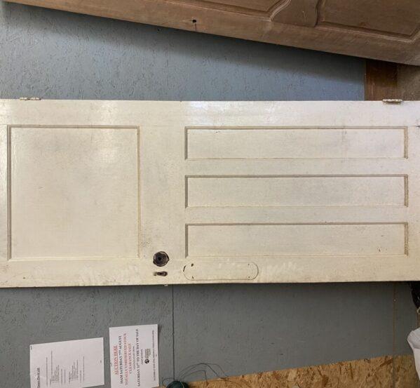 Simple One Over Three Door