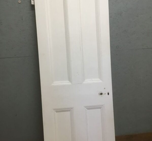 Narrow Painted Four Panel