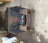 Metal Wood Burner Fire Basket