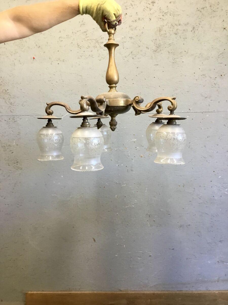 5 Pendant Hanging Glass Light