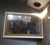 Gold Rimmed Mirror