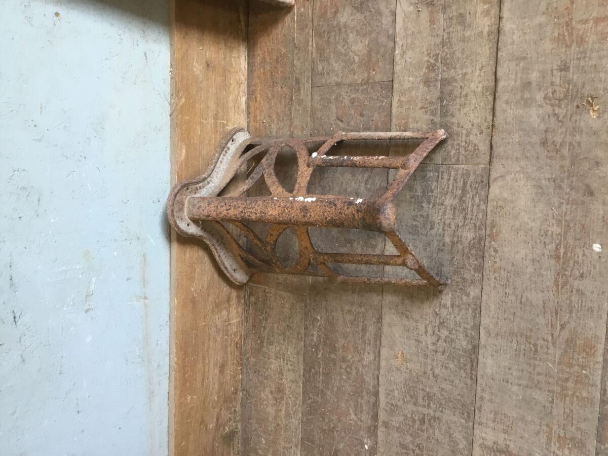 Antique Metal Saddle Rack