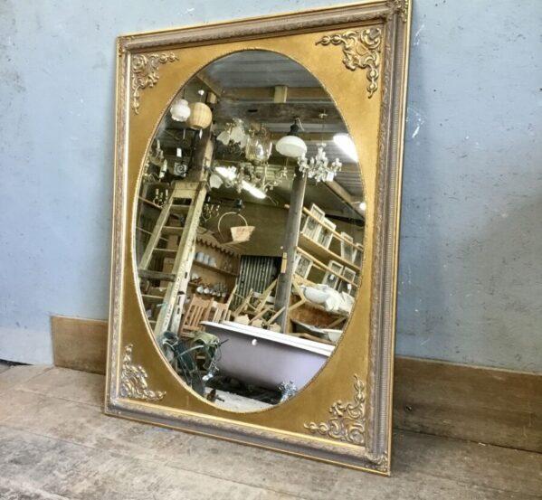 Victorian Style Gold Mirror