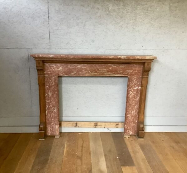 Beautiful Red Marble Fire Surround
