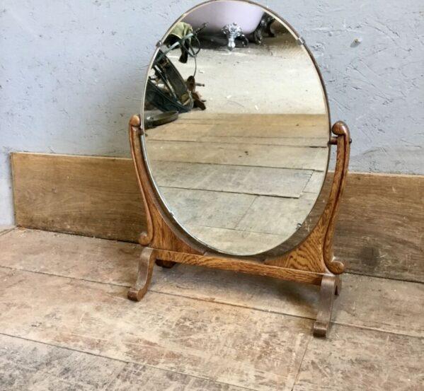 Antique Desk Mirror