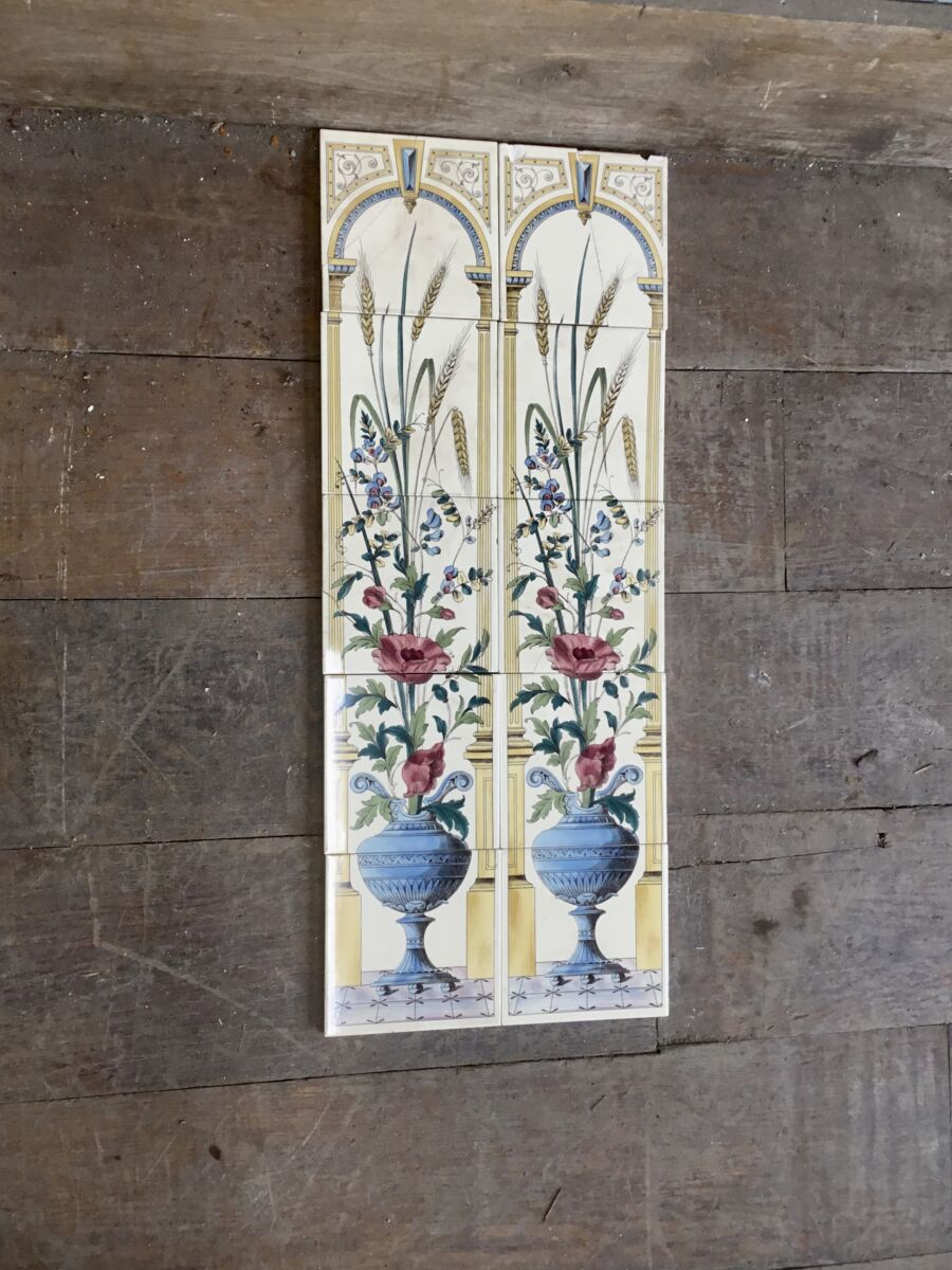 Decorated Arch Wall Tiles