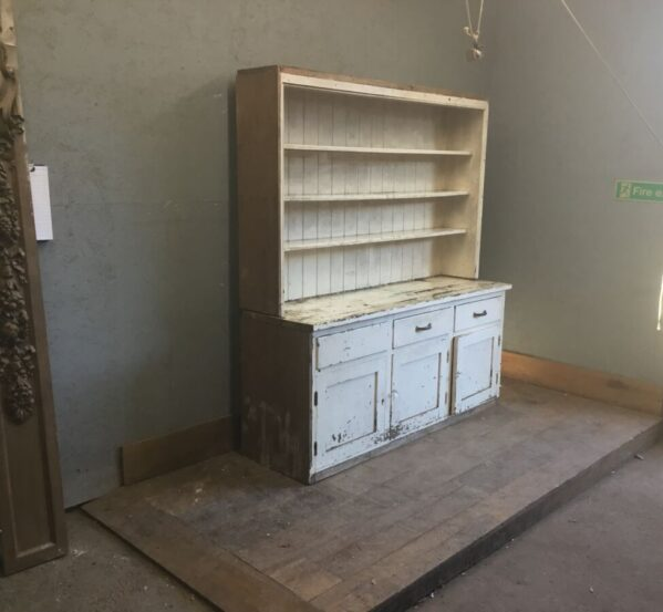 Large White Painted Dresser