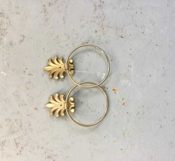 Pair of Gold Towel Rings