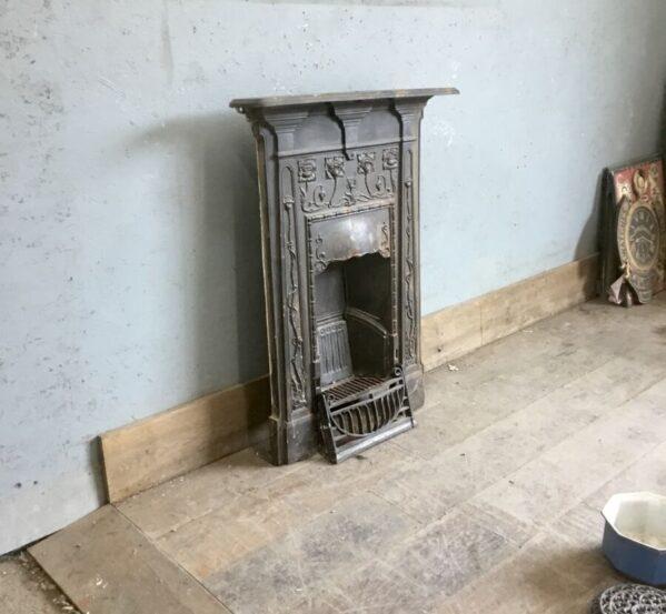 Decorative Cast Iron Fire Insert