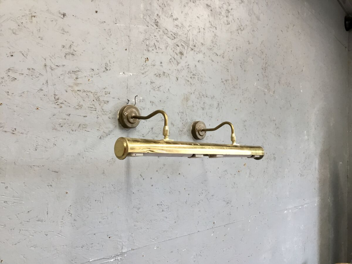 Gold Double Wall Lamp