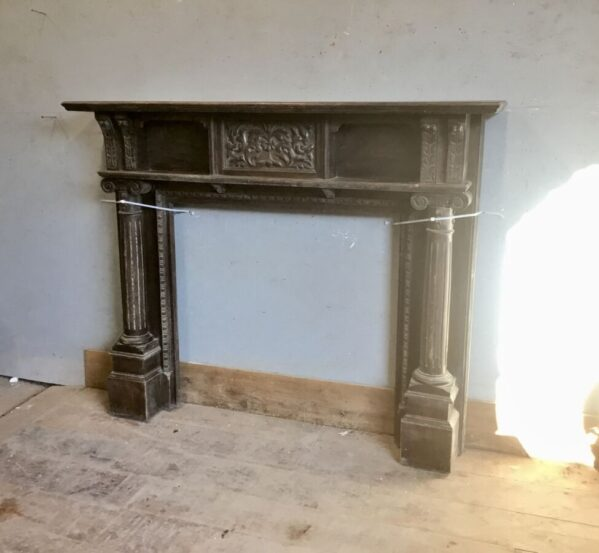 Stained Oak Fire Surround