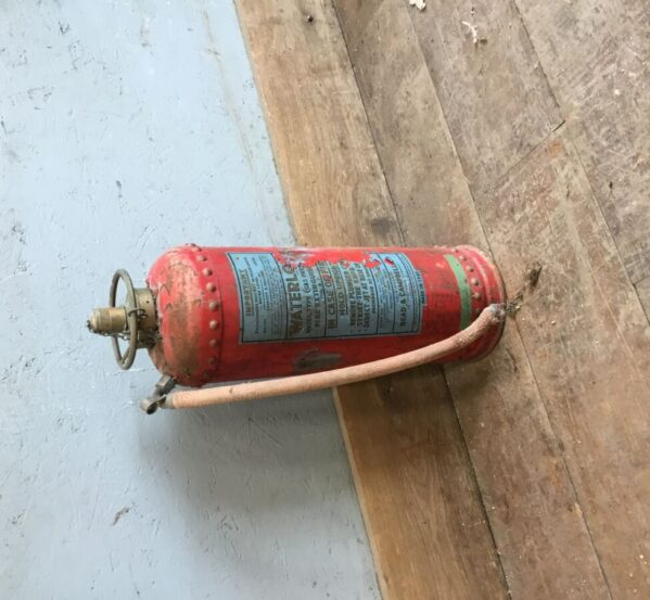 Antique Water Fire Extinguisher