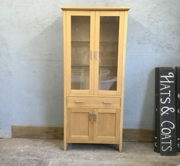 Large Glass Cabinet