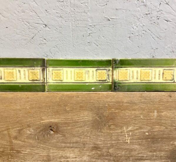 Green + Yellow Bordered Tiles