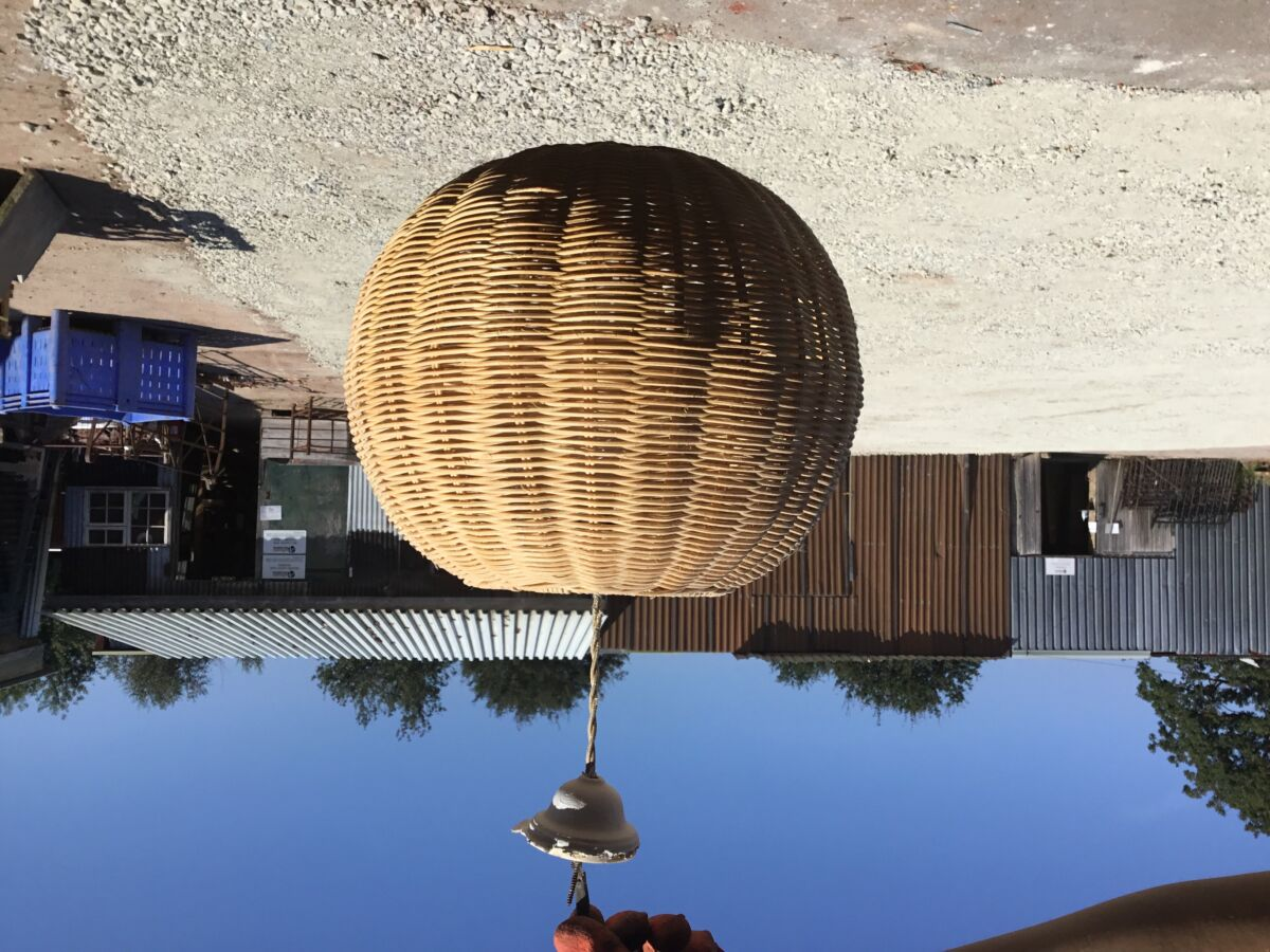 Wooden Basket Light Shade