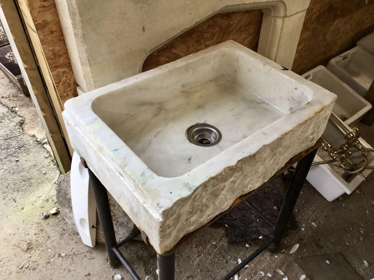 Reclaimed Marble Sink