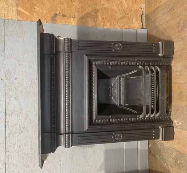Matt Black Complete Fireplace