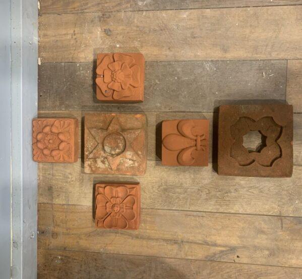 Selection of Pressed Decorative Bricks