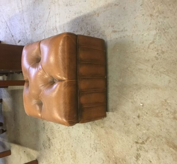 Brown Leather Foot Stall