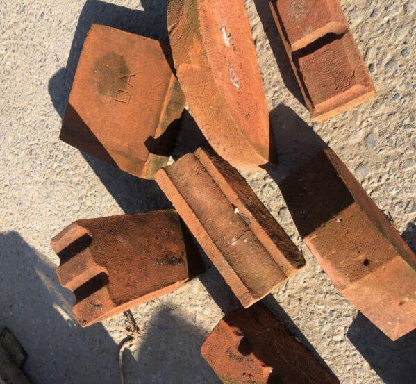 Assortment of Coping + Plinth Bricks