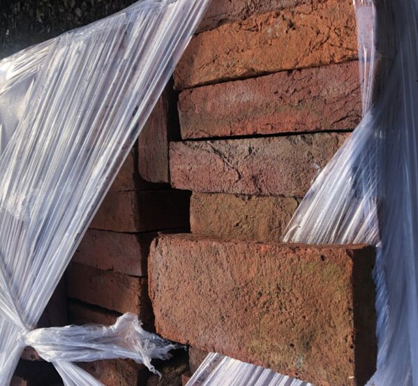 Reclaimed Red Pavers