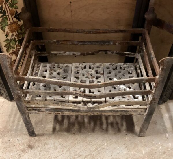 Antique Original Fire Basket