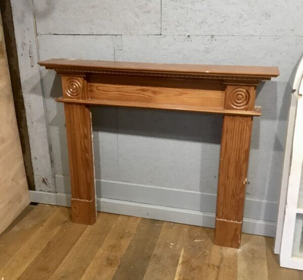 Pitched Pine Fire Surround